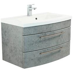 POSSEIK Waschtischunterschrank LUNA beton