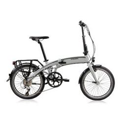 Tretwerk Wega 20 Zoll Faltrad E-Bike Grau 32 cm
