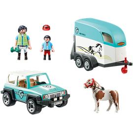 Playmobil Country PKW mit Ponyanhänger 70511