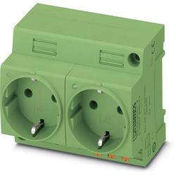 Phoenix Contact Schaltschrank-Steckdose EO-CF/PT/LED/DUO/GN Grün 1St.