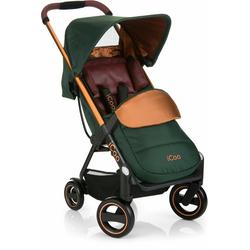 iCoo Kinder-Buggy Acrobat Copper Green, mit leichtem und stylischem Aluminiumgestell; Kinderwagen, Buggy, Sportwagen, Sportbuggy, Kinderbuggy, Sport-Kinderwagen