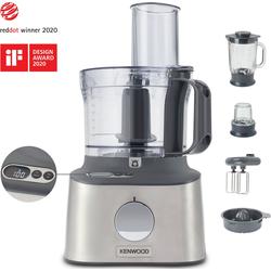 KENWOOD Kompakt-Küchenmaschine Multipro Compact+ FDM313SS, 800 W, mit integrierter Waage silberfarben