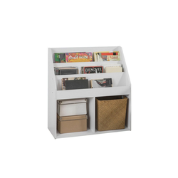SoBuy Bücherregal KMB01, Kinderregal mit 3 Ablagefächern und 2 offenen Fächern