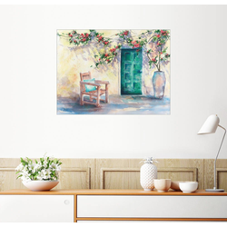 Posterlounge Wandbild, Ausruhen 90 cm x 70 cm