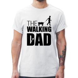 Shirtracer T-Shirt The Walking Dad - Vatertag - Vatertagsgeschenk - Herren Premium T-Shirt - T-Shirts vatertagsgeschenk dad M