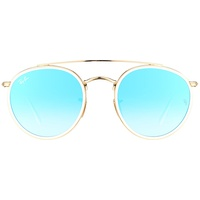RB3647N gold / blue gradient flash
