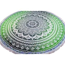 Tagesdecke Rundes indisches Mandala Tuch, Boho Tagesdecke,.., Guru-Shop