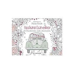Hochzeitszauber - Postkartenbuch. Maren Kruth  - Buch