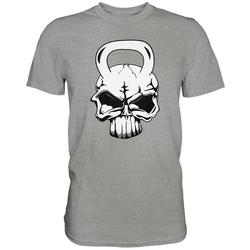 weargo T-Shirt Kettlebell Skull L