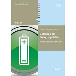 Batterien als Energiespeicher als Buch von