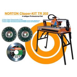 NORTON CLIPPER Fliesenschneidemaschine Fliesenschneider TR 202 Norton Clipper Tischsäge