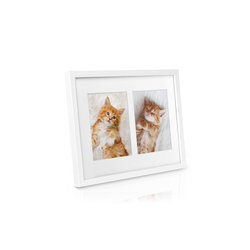 bomoe Bilderrahmen Galeria, weiß, 25x19cm weiß 25 cm x 19 cm