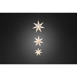 LED Lichtervorhang 3 Acryl Sterne 6136-103