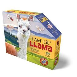 Carletto Puzzle Madd Capp Shape Puzzle Junior Lama 100 Teile, Puzzleteile