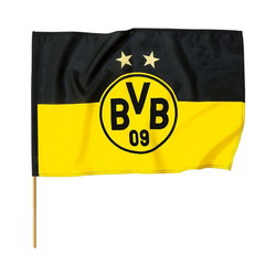 Borussia Dortmund Fahne BVB Fahne, 150 x 100 cm