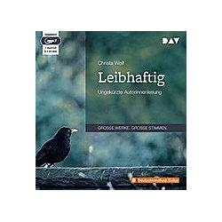 Leibhaftig  1 MP3-CD - Hörbuch
