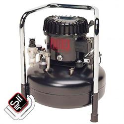 Black Panther P50-10 Kompressor Flüster-Leise mit nur 40 dB(A)/lm, Silair, Silent Kompressor