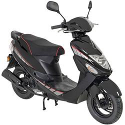 AGM MOTORS Motorroller GMX 460 Sport, 50 ccm, 45 km/h, Euro 4 schwarz