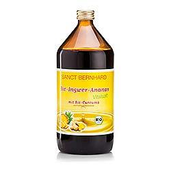 Bio-Ingwer-Ananas-Vitalsaft