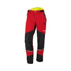KOX Duro 2.0 Schnittschutzhose, Rot, Größe 44