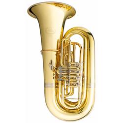 B&S GR51 4/4 Bb Tuba Messing klarlackiert