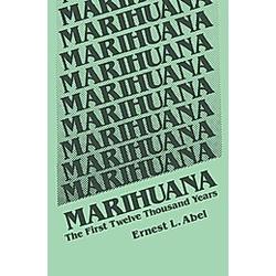 Marihuana. E. L. Abel  - Buch