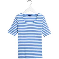 Gant Rundhalsshirt blau Damen Rundhalsshirts Shirts Sweatshirts