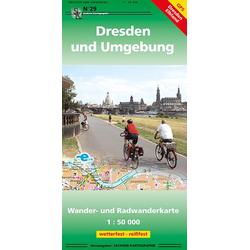 Dresden und Umgebung 1 : 50 000