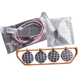 Amewi Dachgepäckträger mit 4 LEDs Orange