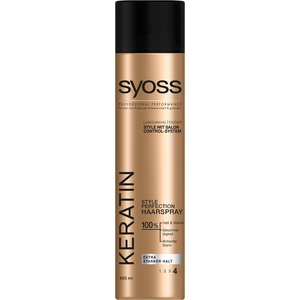 Syoss Haarspray Keratin, 3er Pack (3 x 400 ml)