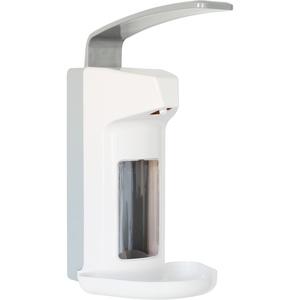 SANISMART Desinfektionsmittelspender Kunststoff mit Tropfschale 500 ml