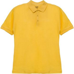 Herren-Poloshirt Gelb M