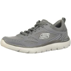 Skechers Mens 52812-CHAR_42 Sports Shoes, Grey, EU