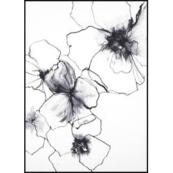 Poster FLOWER LINE 2 (BH 30x40 cm)