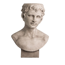 By On Übertopf Statue Gesicht Grau