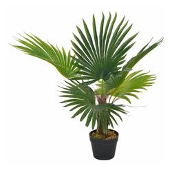 Kunstpflanze vidaXL Künstliche Pflanze Palme Kunstpflanze Deko Topfpflanze, vidaXL, Höhe 70 cm 70 cm