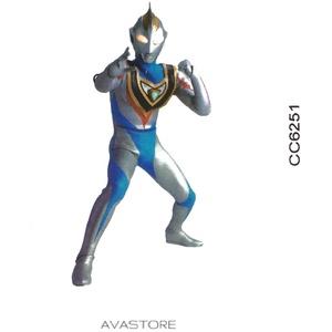 Avastore Temporäre Tattoos für Kinder, Power Ranger Force blau, Tattoo, für Kinder, 2 Stück