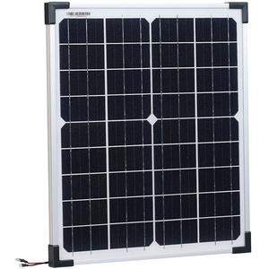 revolt Mobiles Solarmodul: Mobiles Solarpanel mit monokristallinen Solarzellen, 20 Watt (Solarplatte)