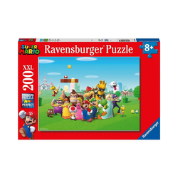 Ravensburger Puzzle Puzzle 200 Teile Super Mario Abenteuer, Puzzleteile