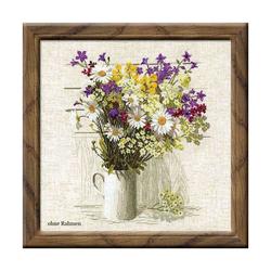 """Riolis Stickset Kreuzstich """"Wildblumen"""", Zählmuster"""