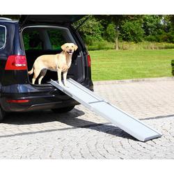 TRIXIE Hunderampe Petwalk, ausziehbar, BxL: 43x100-180 cm, belastbar bis 120 kg