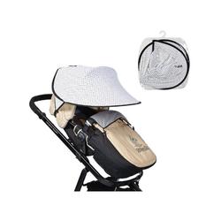 Cangaroo Kinderwagenschirm Universal Sonnenschutz, für den Kinderwagen Schutz vor Sonne Wind Staub