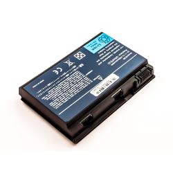 MobiloTec Akku kompatibel mit Acer Travelmate 7220 Laptop-Akku