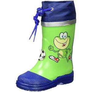 Beck Unisex Kinder Frosch Gummistiefel, Grün (Grün 22), 34 EU