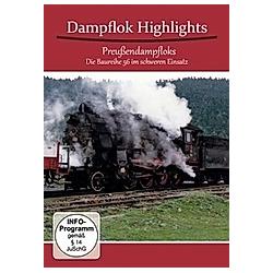 Dampflok Highlights - Preussen Dampfloks - DVD  Filme