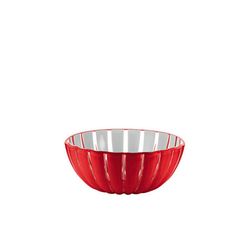 Guzzini Schale guzzini Schale GRACE rot-weiß D ca. 12 cm, Acrylglas