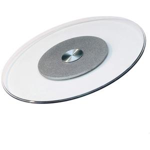 LYBC Gehärtetem Glas-Drehteller für Esstisch,Runder Tische Drehplatte,Rotierende Servierteller,50-100cm 360o drehbar Servierplatte