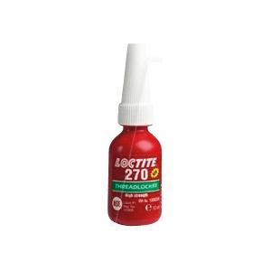 LOCTITE 270 10ML - Schraubensicherung, Lack, hochfest, grün, 10 ml