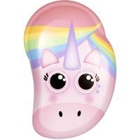 TANGLE TEEZER Haarentwirrbürste Original Mini Rainbow Unicorn Print rosa