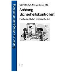 Achtung Sicherheitskontrollen! - Buch
